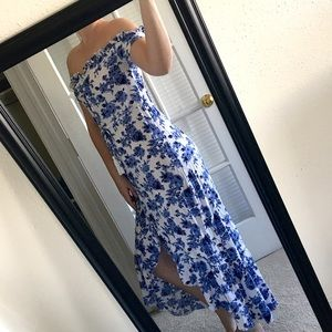 Spring Casual Button Dress